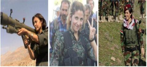 kurdistan fighters